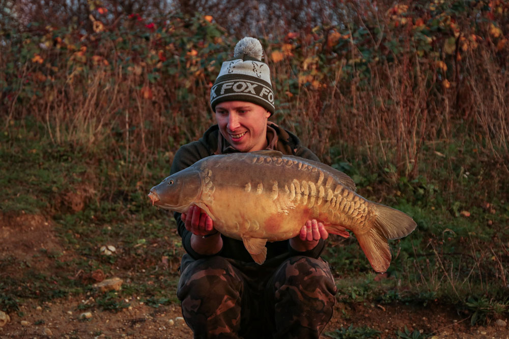 Job done? There was more to come after this 20lb 10z mirror