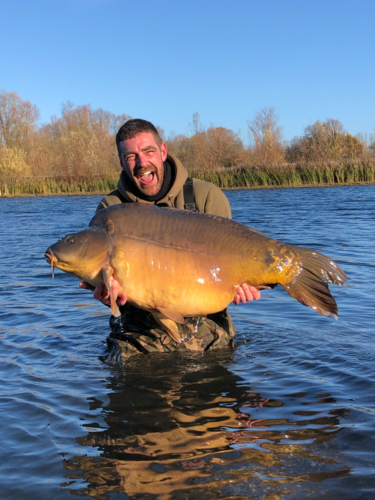 England international Ryan Need with Captain Jack at 67lb 12oz