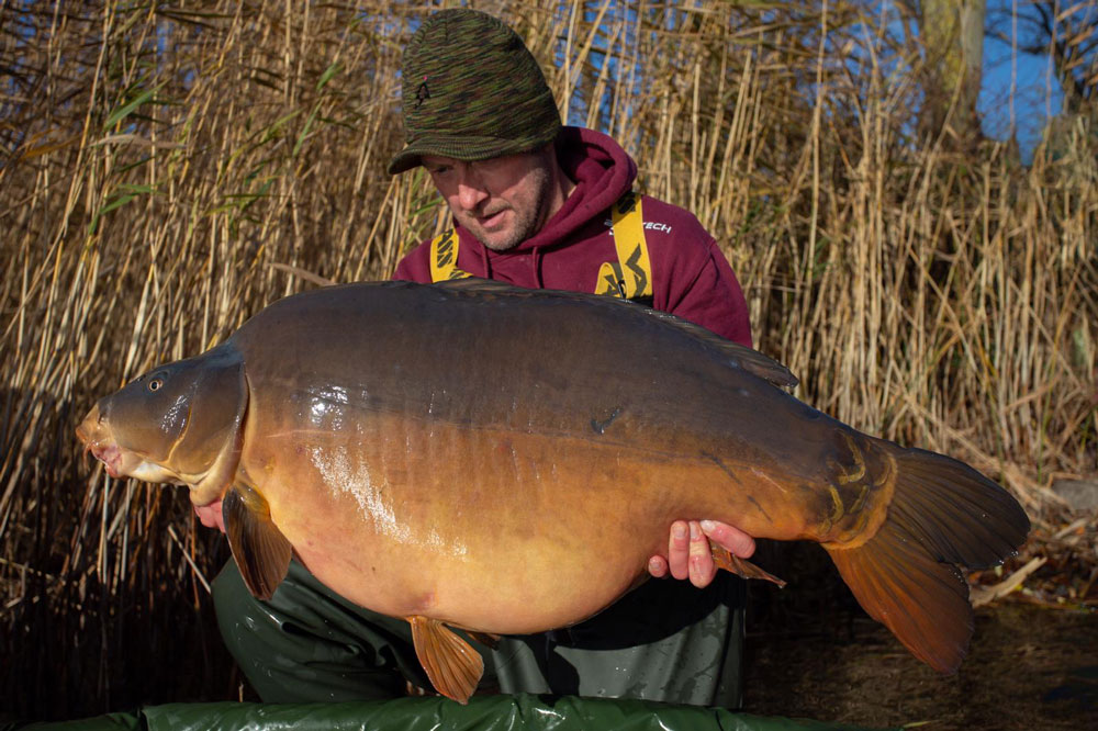61lb 13oz of Grenville lake record…but for how long?