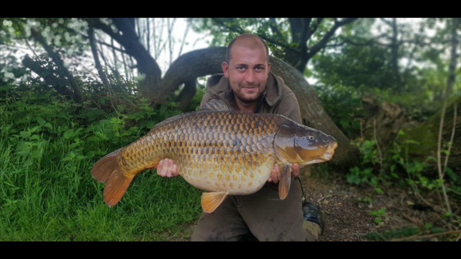 Just one of the many other carp Dennis has banked from the venue