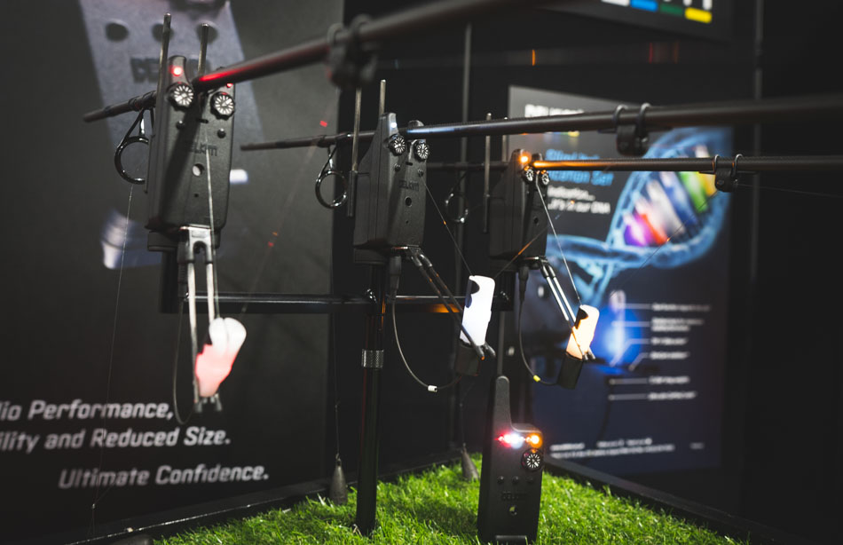 The new alarms were unveiled at the Northern Angling Show