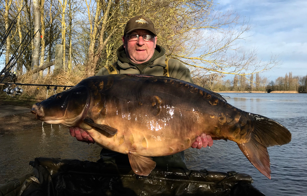 Its the lake's fifth 40-pounder since it opened