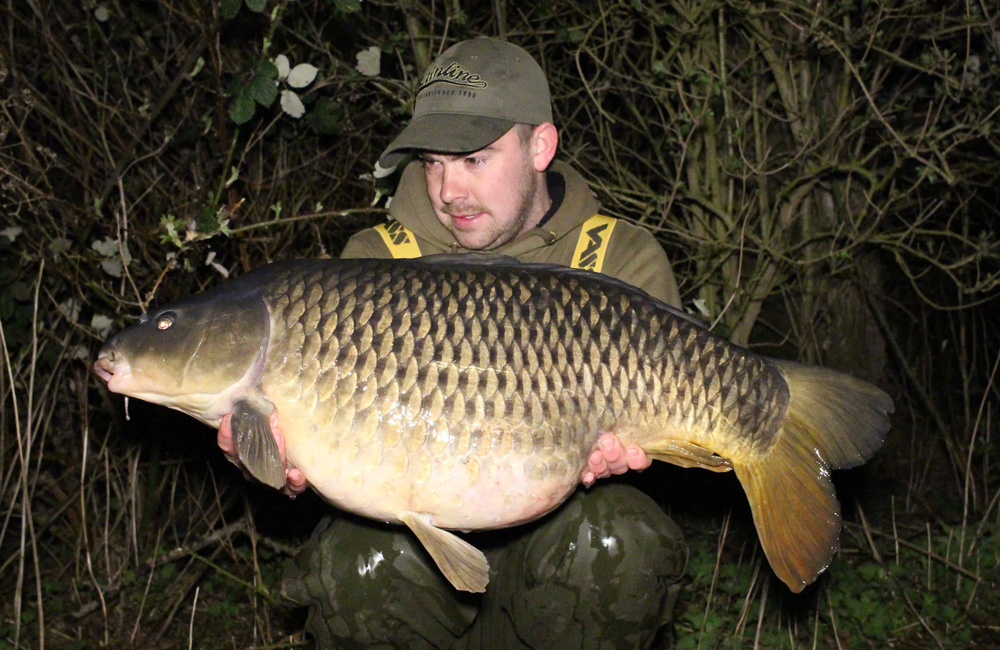 This 33lb 2oz common was the biggest of the trip