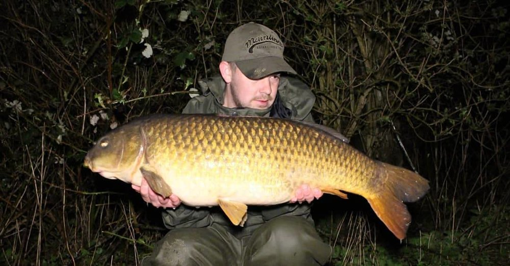 This 27lb common was one of six 20s for Callum
