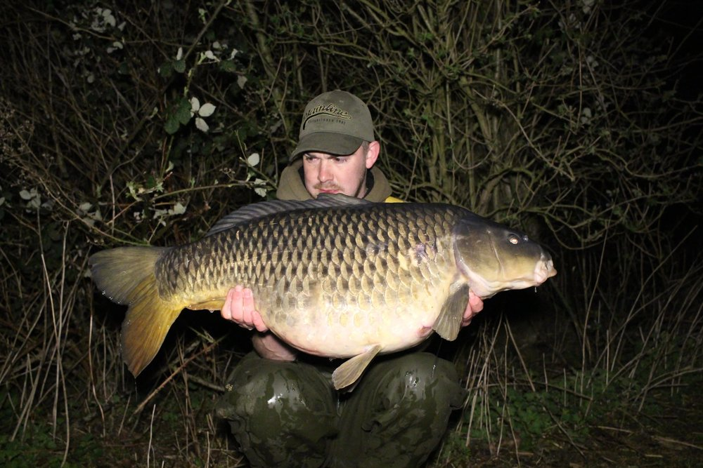 The other side of Callum's biggest fish