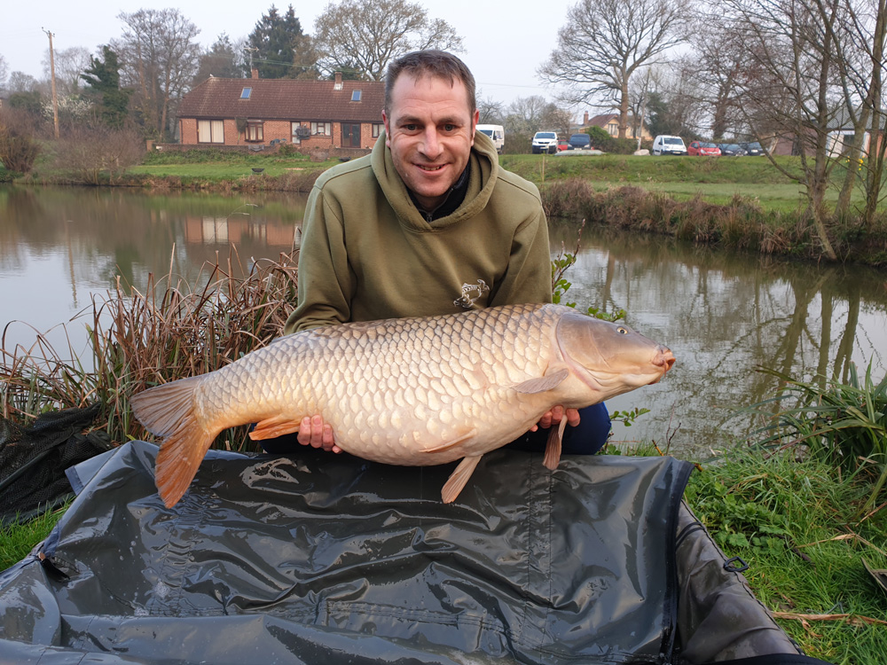 Gary's 40lb Hants common