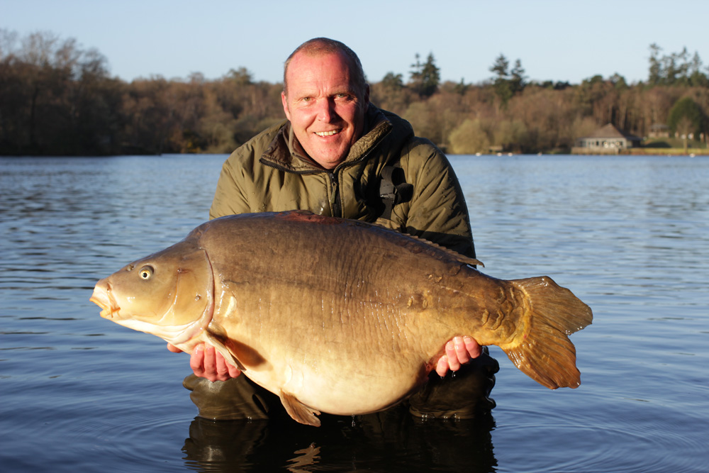 The mirror known as Scruffy Bob from Welly at 58lb
