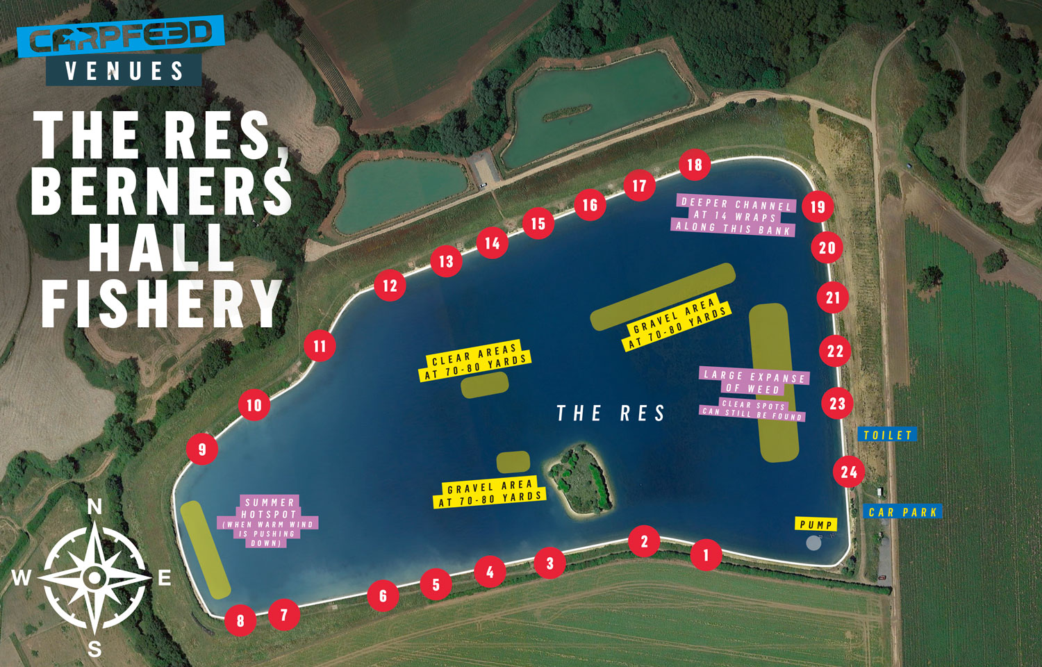 Berners Hall Reservoir Map And Tactics Guide Carpfeed