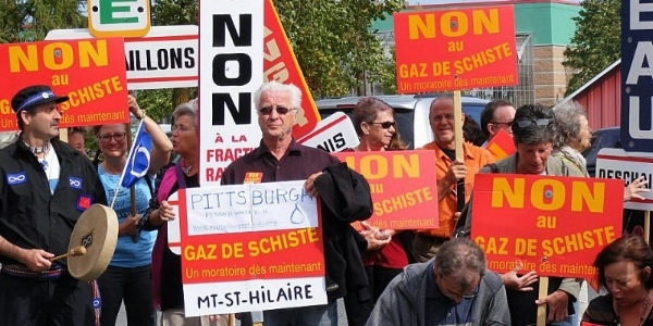 Global Frackdown Day in 2012 (c) Friends of the Earth Europe
