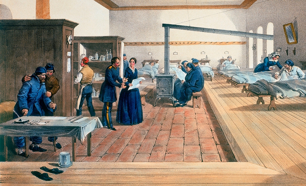 By 1856, Florence Nightingale had  transformed hospital care in the Crimean War  – her next step was to use statistics to convince the British army and government of the need for widespread reform