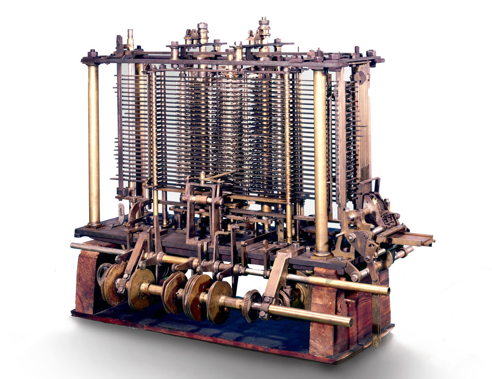 Charles Babbage's analytical engine was more than a fast calculator – thanks to Ada Lovelace's crucial insight, it offered the possibility of enormous computational power