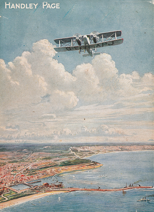 One of Britain's first airline services was the  Handley Page Air Service  between London and Paris