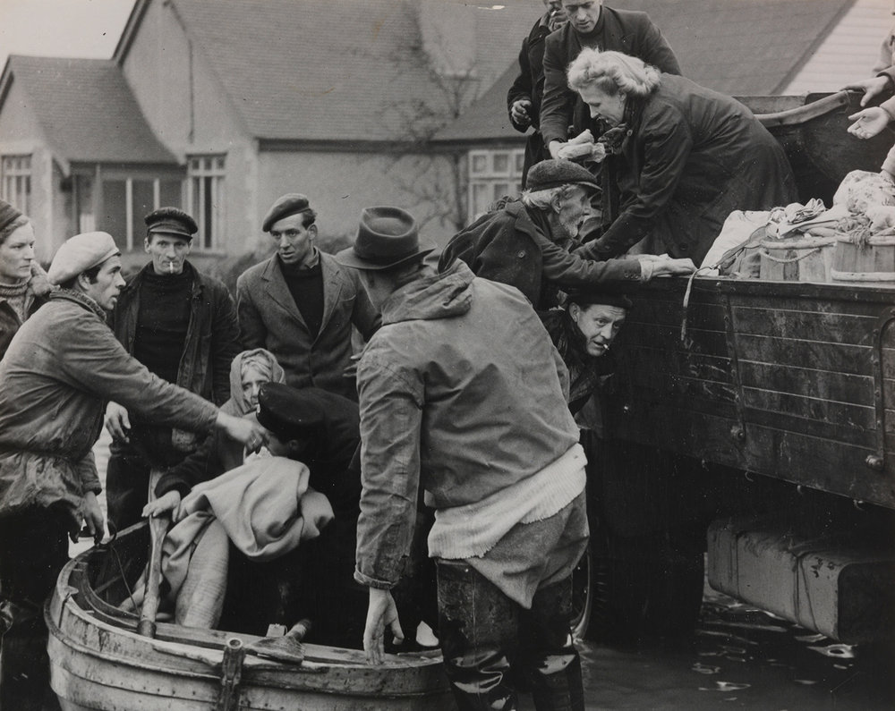 The 1953 north Sea Flood killed more than 2500 people in the UK, Netherlands and Belgium – tens of thousands of people were made homeless ©  Daily Herald Archive / Science and Society Picture Library
