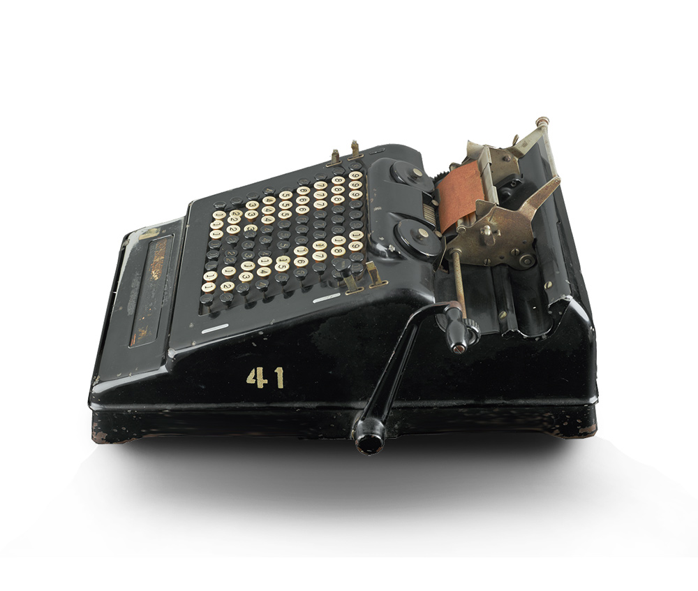 Burroughs calculating machine, c. 1930