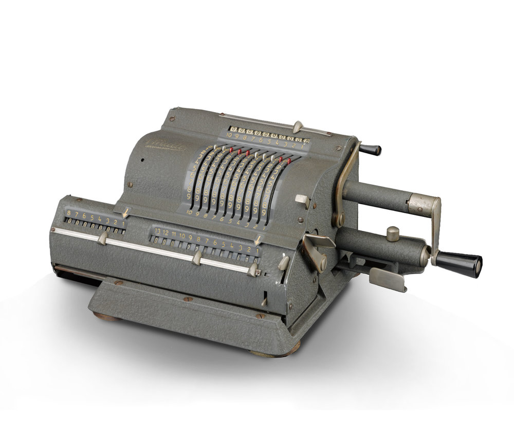 Multo calculating machine, c. 1960