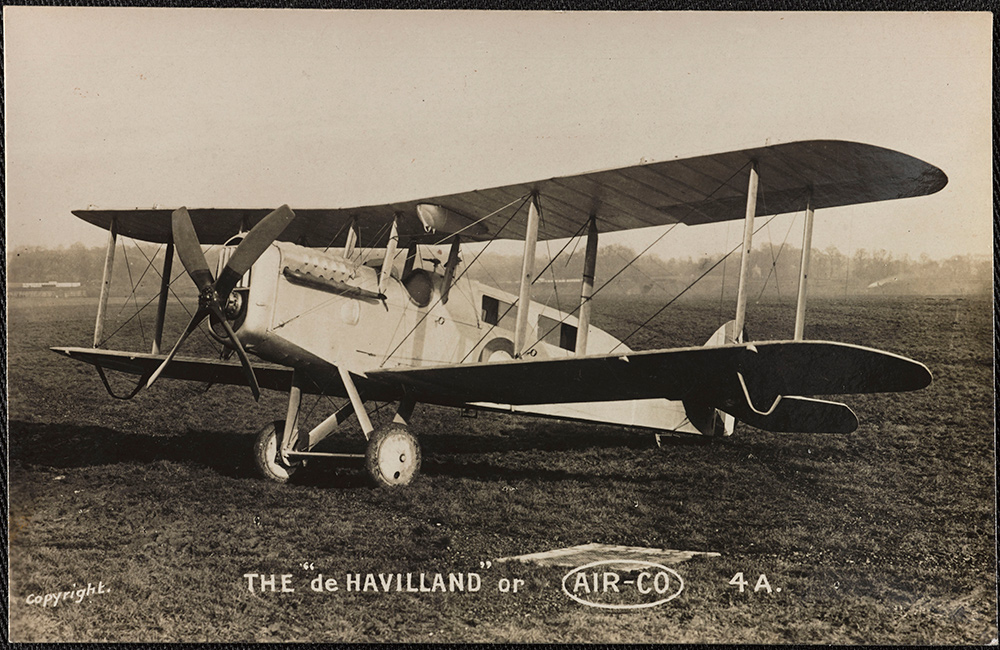 One of the UK's  first civil airliners  was converted in 1919 from a First World War military bomber