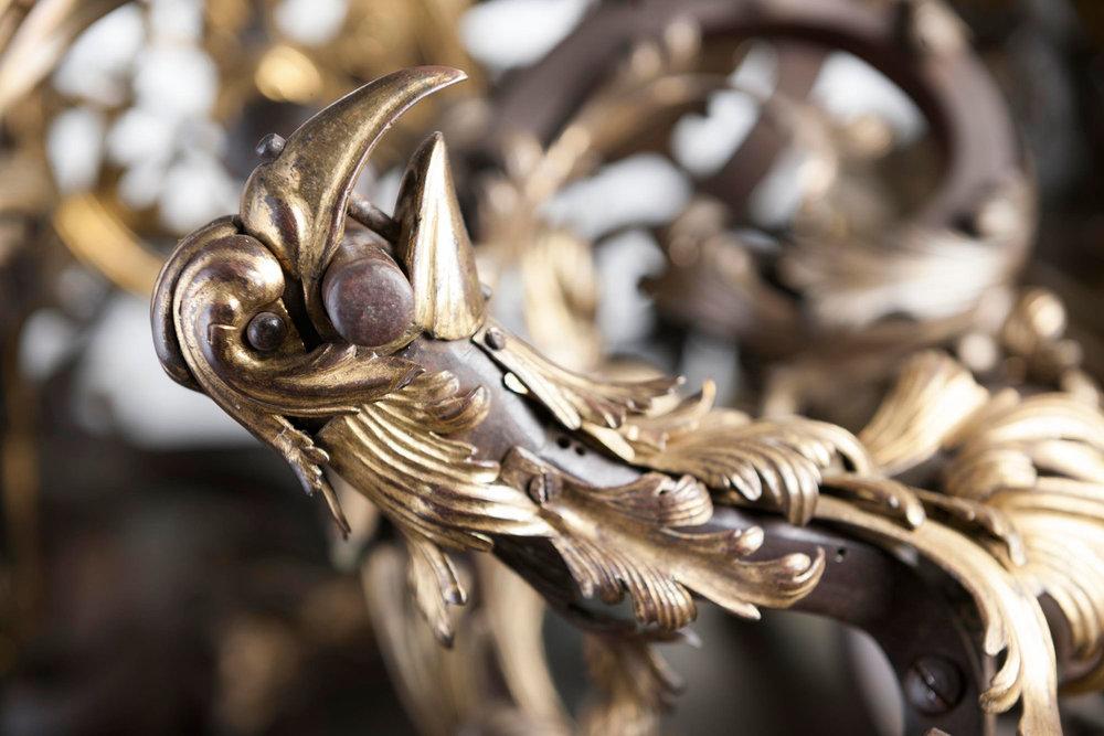 Ornamental turning 'rose-engine' lathe