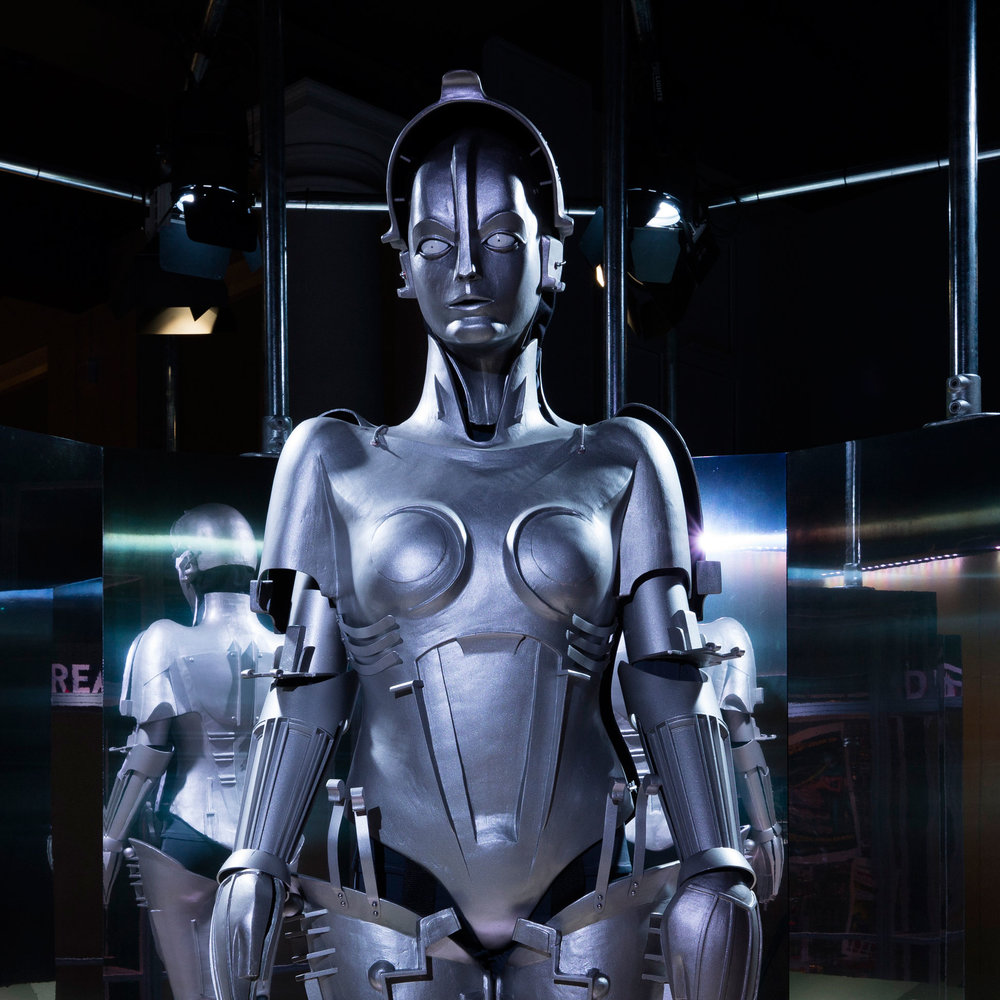 Replica of 'Maria' robot