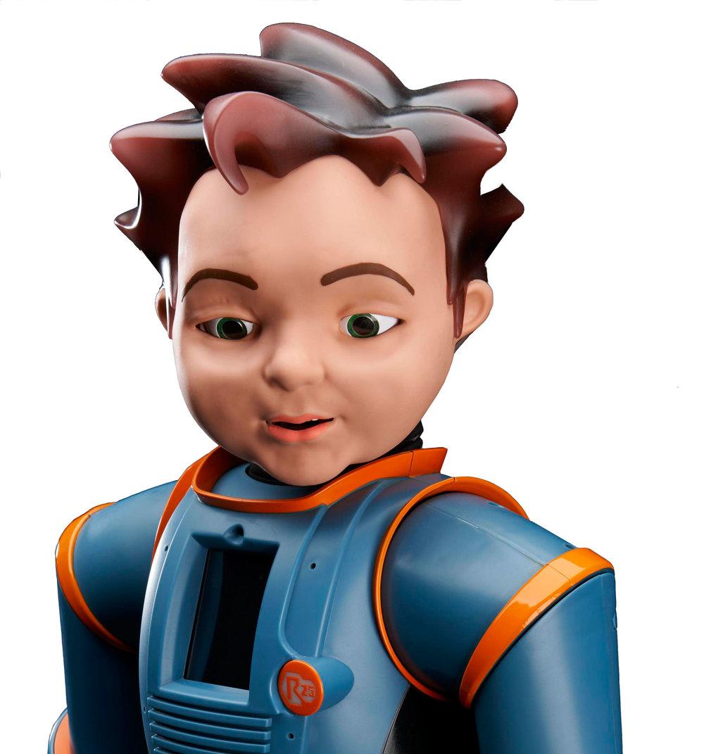 Zeno R25  expressive humanoid robot