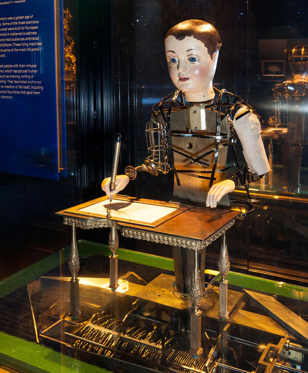 Automaton Draughtsman-Writer, by Henri Maillardet, UK, about 1800