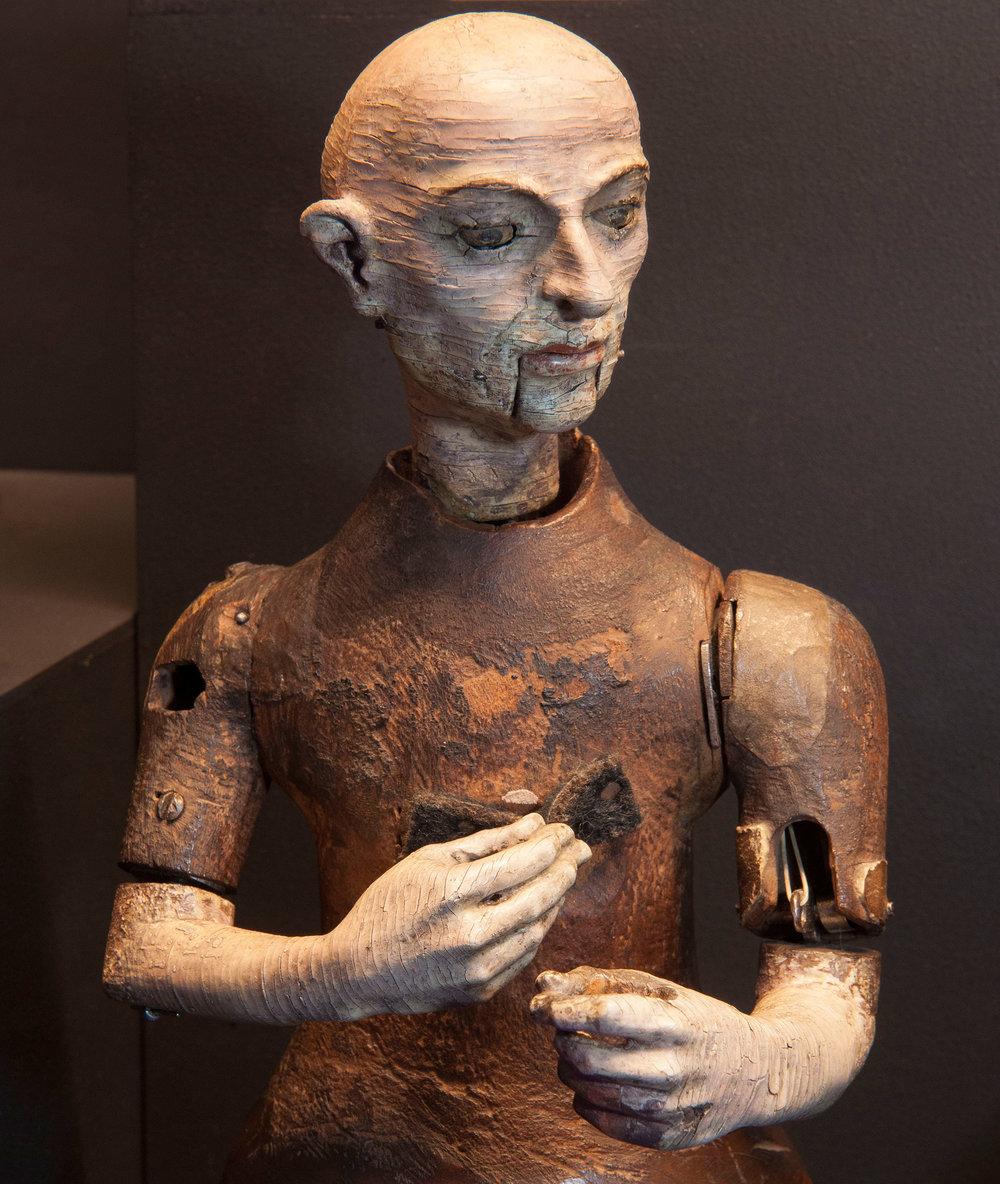 Automaton monk, attributed to Gianello Torriano, Toledo, Spain, c.1560.