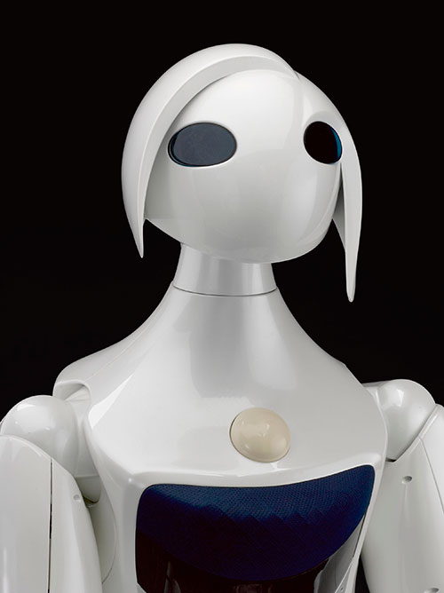 Partner Robot 'Robina', created by Toyota Motor Co., Japan, about 2007