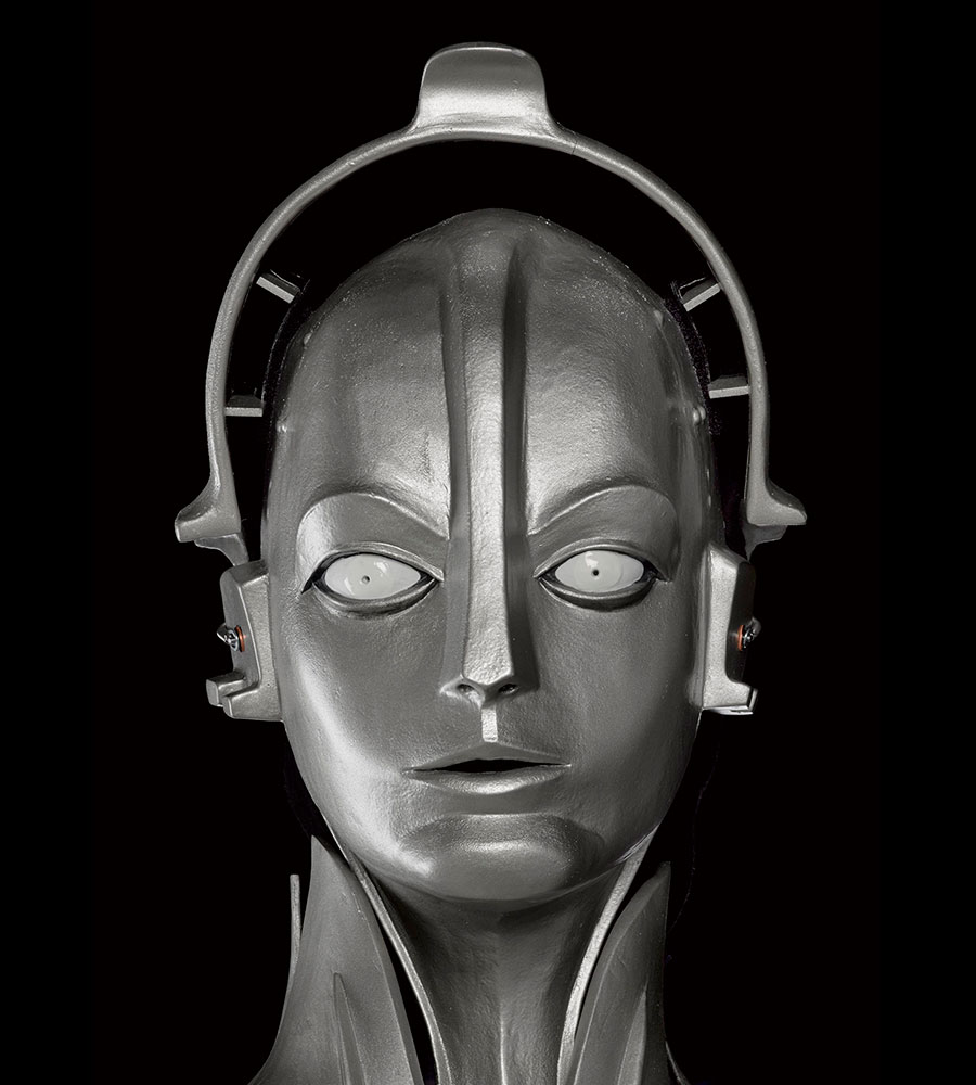 The 'Maschinen-Mensch' ('Machine-Man') Maria, designed by Walter Schulze-Mittendorff, 1927 (this replica 2016)