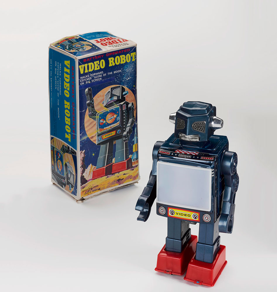 'Video Robot', 1971, Horikawa, Japan
