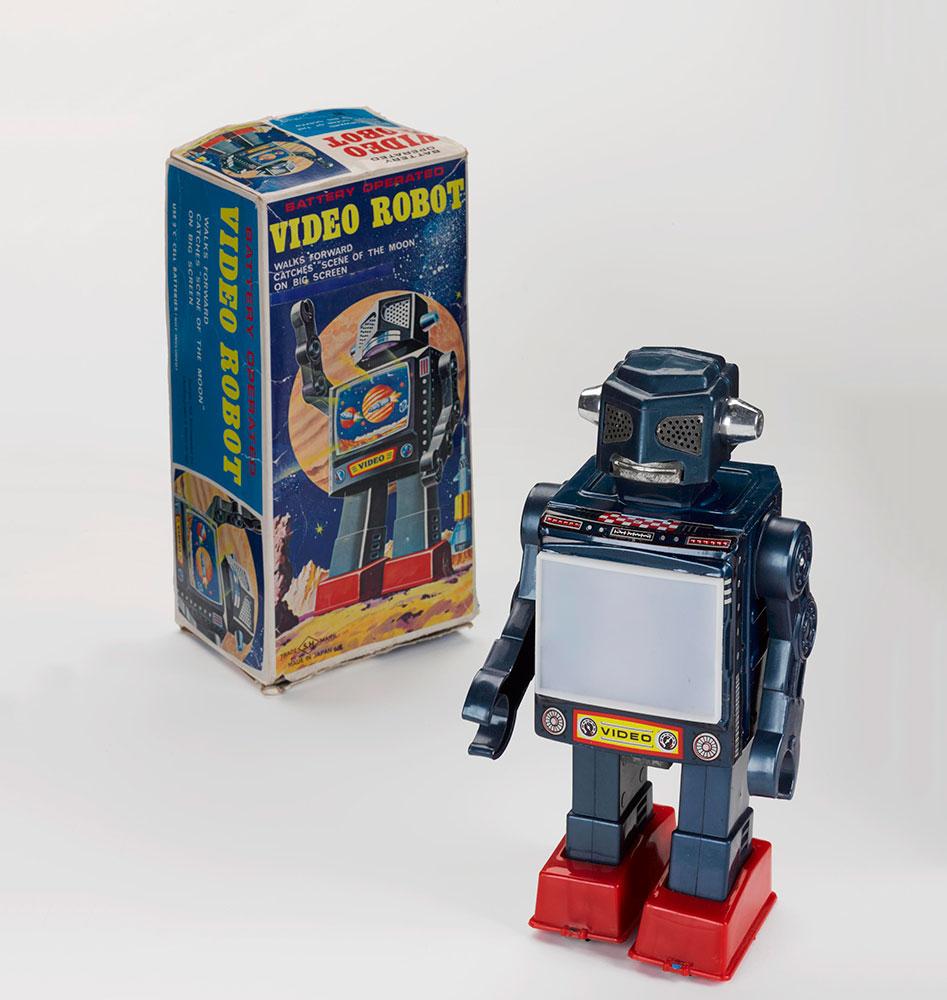 'Video Robot', 1971, Horikawa, Japan