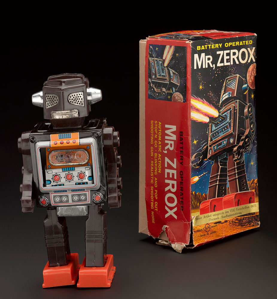 'Mr Zerox' robot, 1970's, Horikawa, Japan