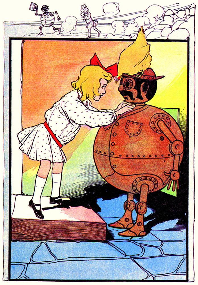 Tik-Tok, as drawn by John Rea Neill, 1907