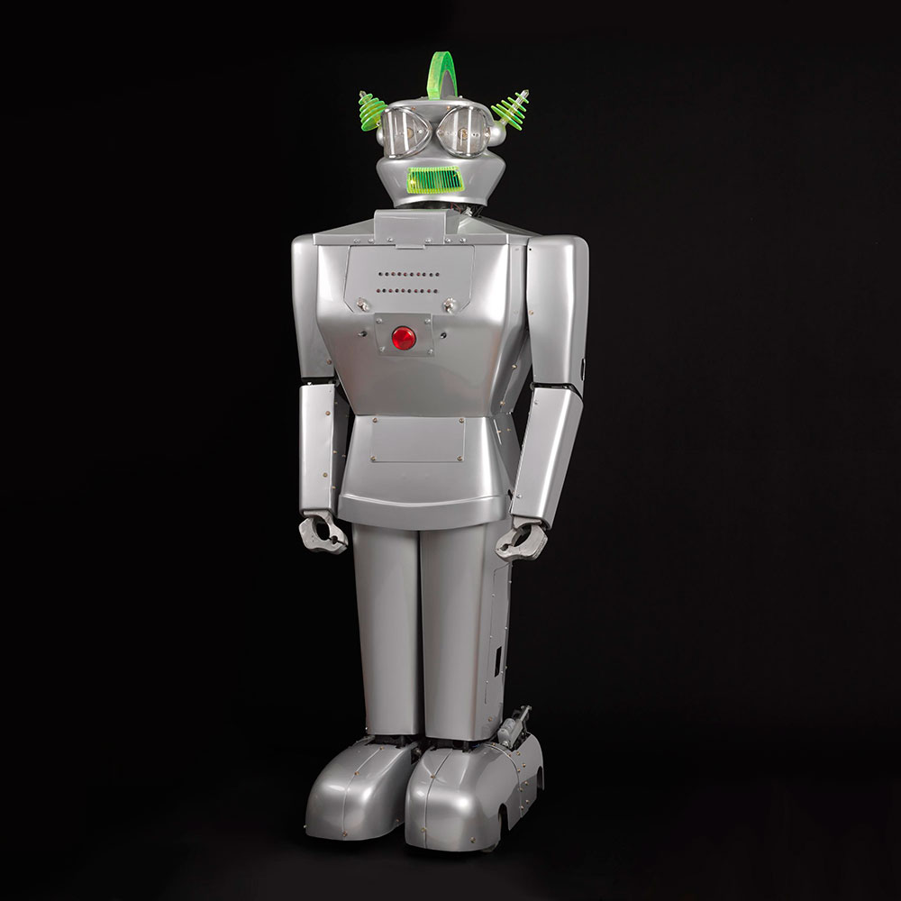 Humanoid robot, Cygan, Italy, 1957