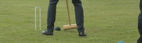 Outdoor games - £50 - Croquet, badminton, giant jenga and boules
