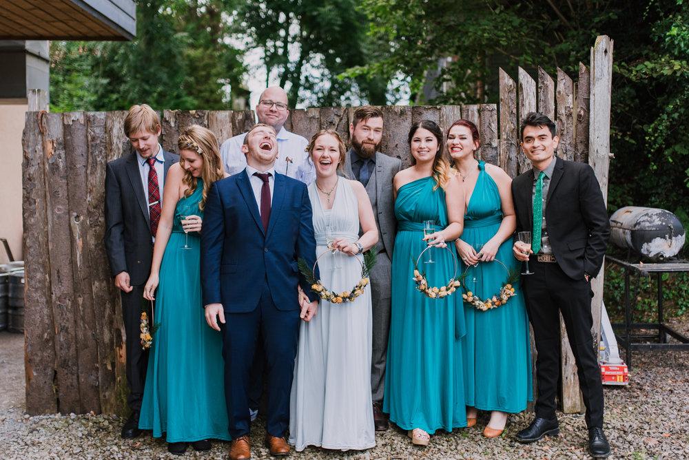 elo rustic irish wedding-2 bridal party northern ireland wedding photographer.jpg