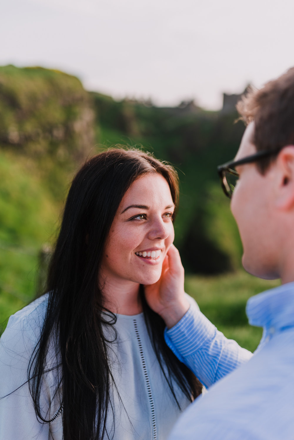 sunset engagement photos by Hello, Sugar taken at Dunluce Castle, Northern Ireland-6.jpg