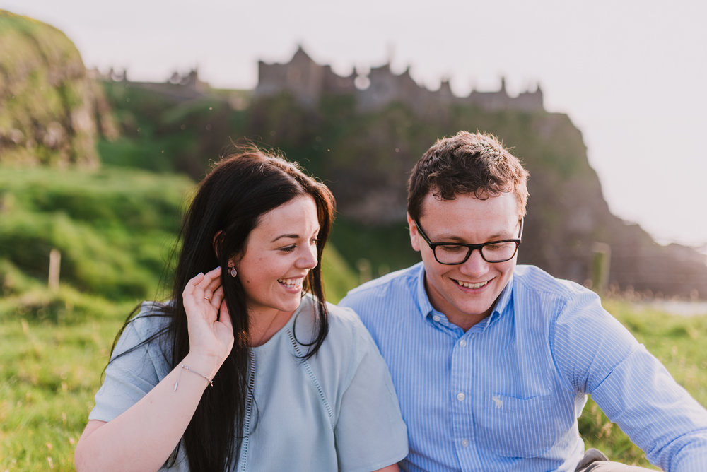 sunset engagement photos by Hello, Sugar taken at Dunluce Castle, Northern Ireland-7.jpg