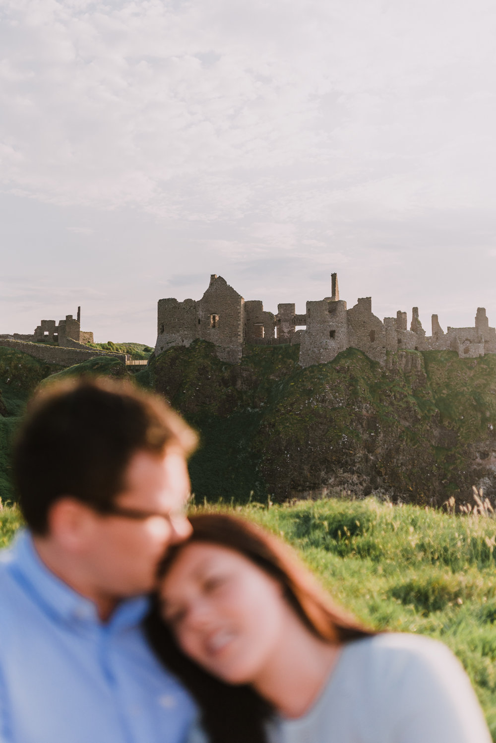 sunset engagement photos by Hello, Sugar taken at Dunluce Castle, Northern Ireland-12.jpg