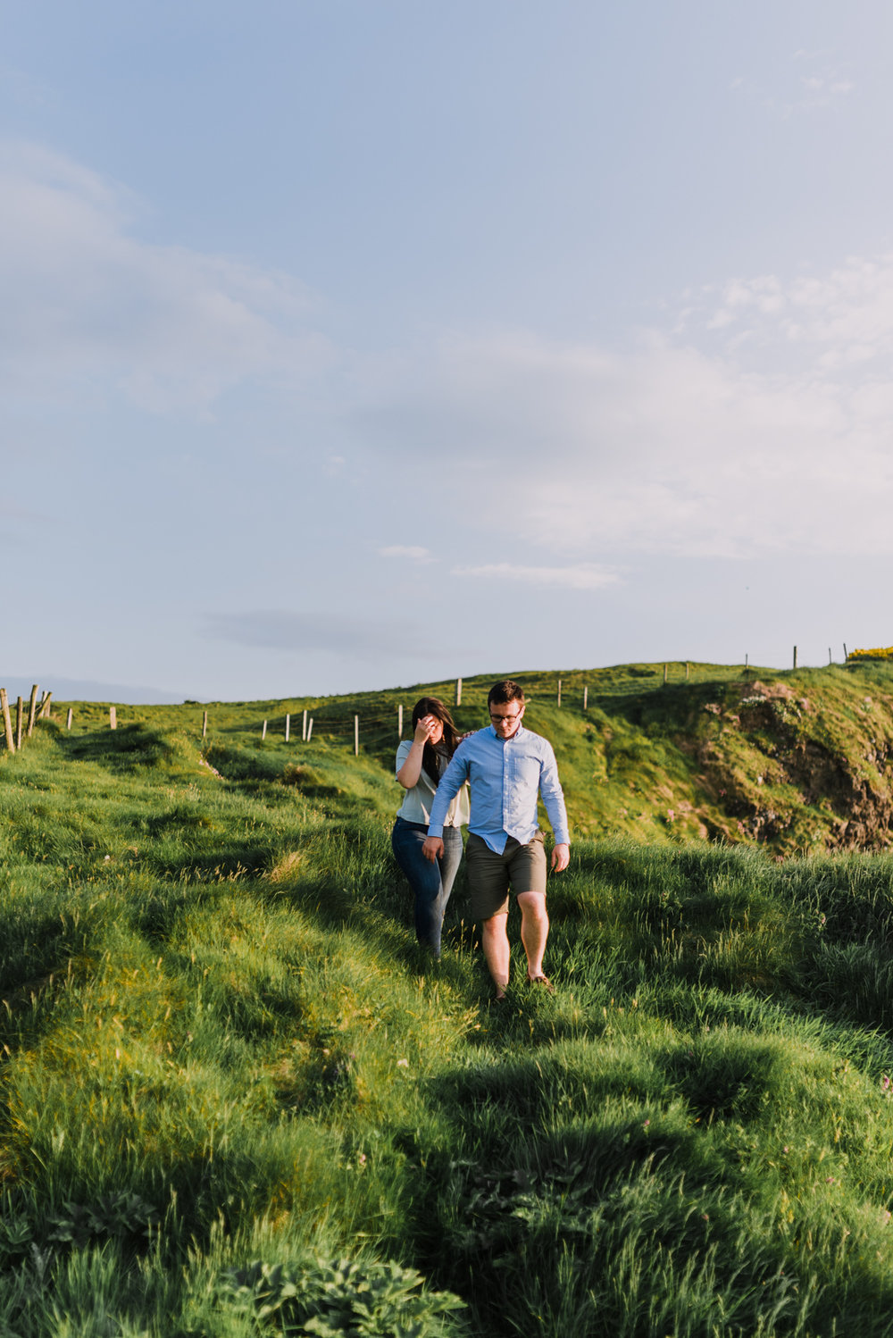 sunset engagement photos by Hello, Sugar taken at Dunluce Castle, Northern Ireland-13.jpg