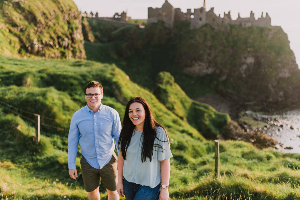 sunset engagement photos by Hello, Sugar taken at Dunluce Castle, Northern Ireland-15.jpg