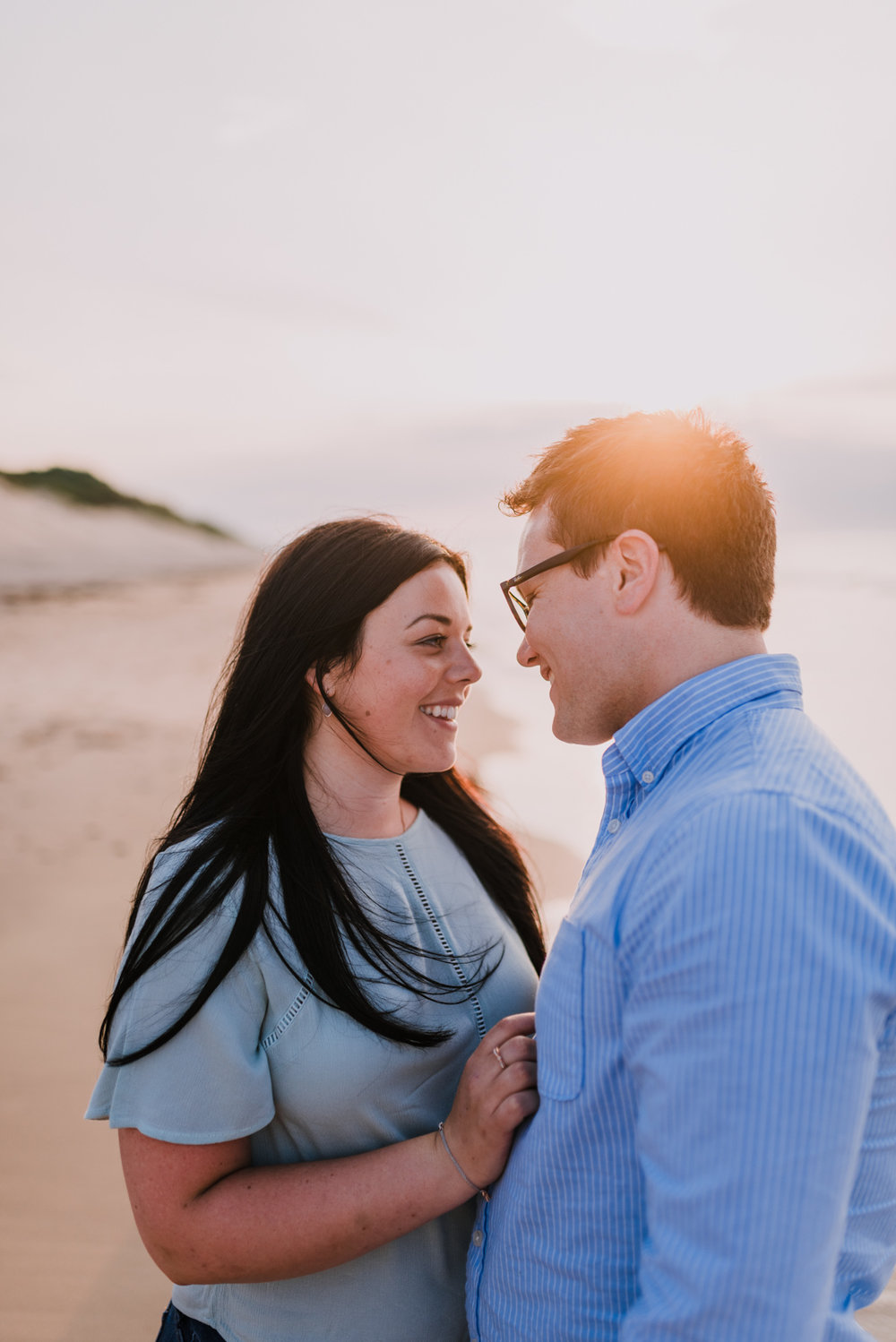 sunset engagement photos by Hello, Sugar taken at Dunluce Castle, Northern Ireland-21.jpg