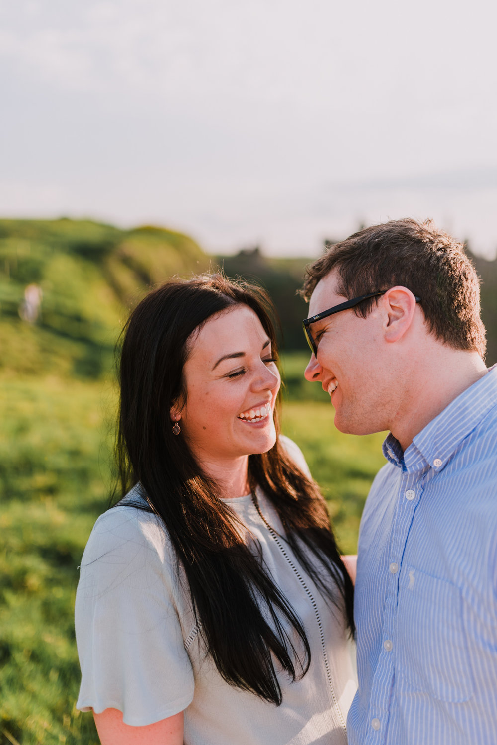 sunset engagement photos by Hello, Sugar taken at Dunluce Castle, Northern Ireland-19.jpg