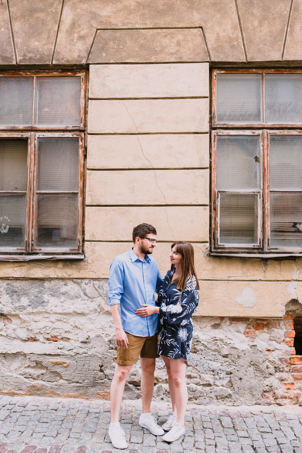 engagement shoot in Lublin Poland, summer engagement shoot in the city, old town engagement photos taken by Hello, Sugar Destination Wedding Photography-3.jpg
