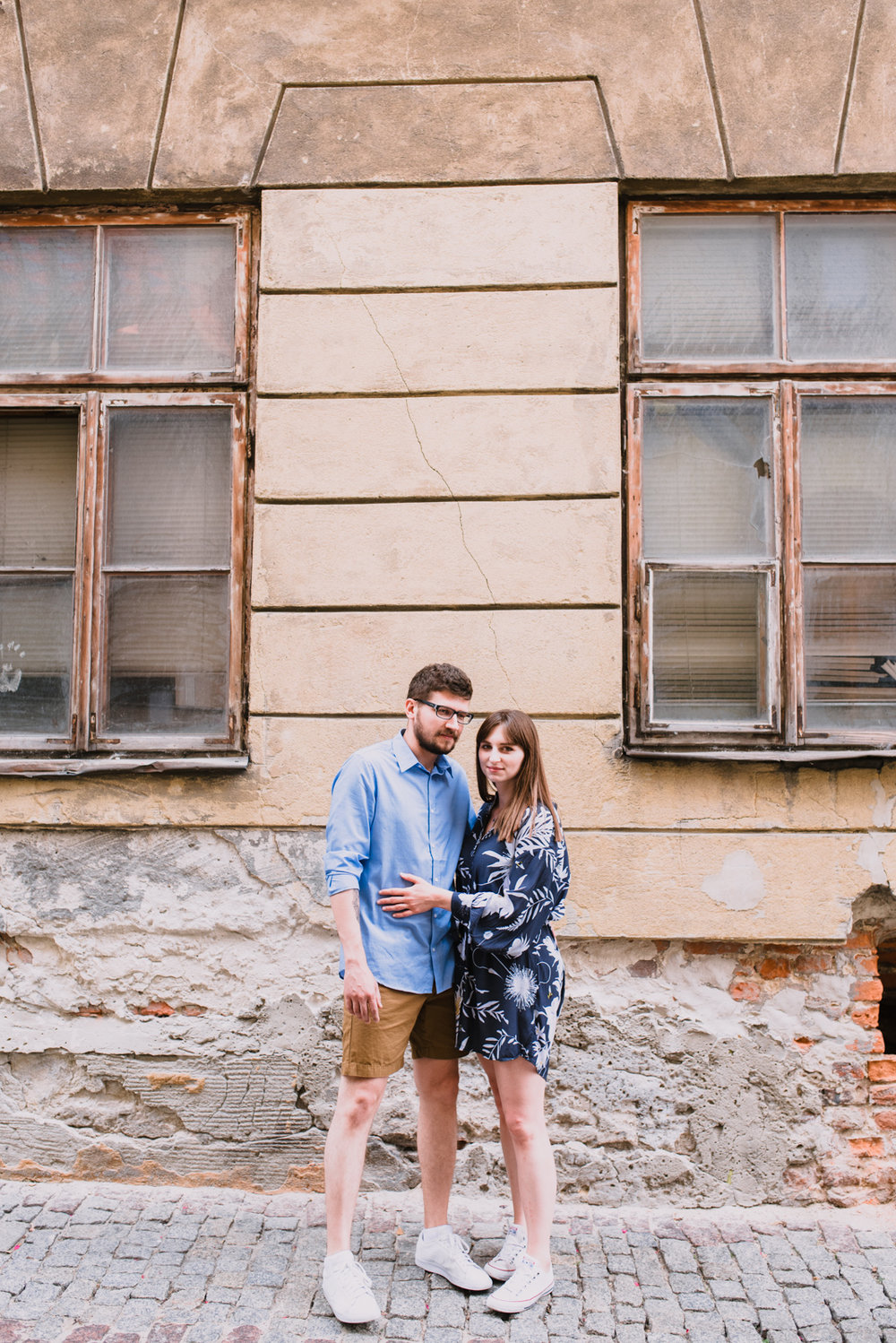 engagement shoot in Lublin Poland, summer engagement shoot in the city, old town engagement photos taken by Hello, Sugar Destination Wedding Photography-4.jpg