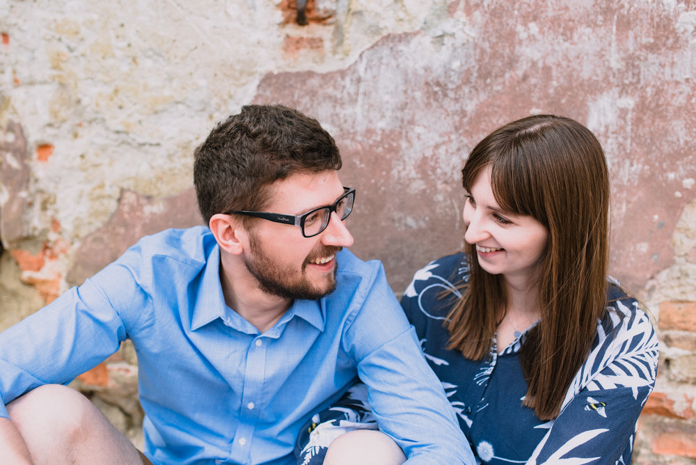 engagement shoot in Lublin Poland, summer engagement shoot in the city, old town engagement photos taken by Hello, Sugar Destination Wedding Photography-12.jpg