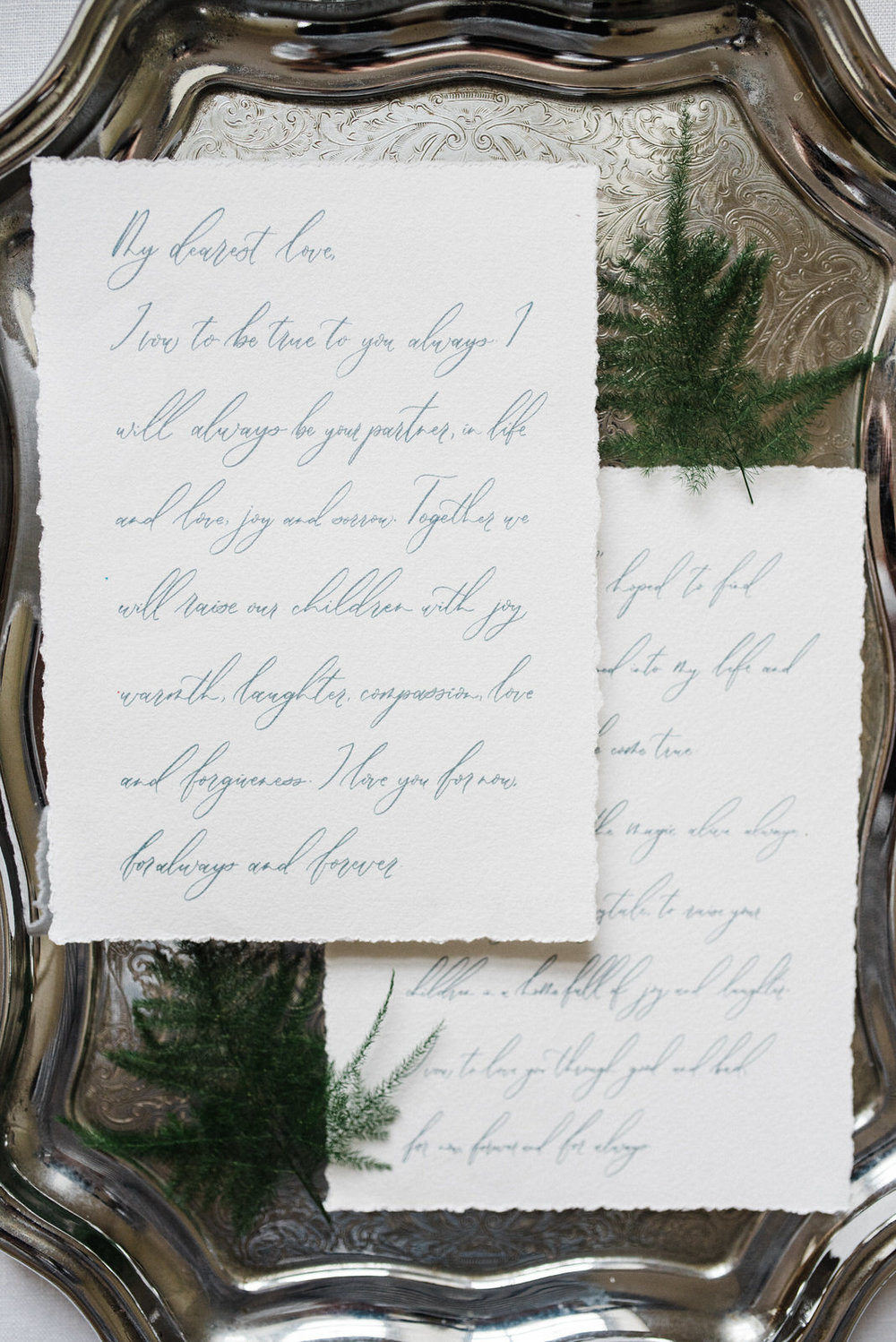 dunluce castle elopement in ireland in sage and white minimalistic white and green stationery design wedding stationery, wedding vows-1.jpg