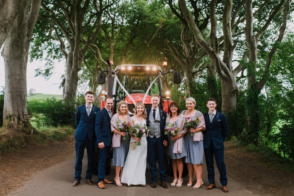 Charming, Rustic Farmer's Wedding at The Dark Hedges, Northern Ireland Wedding Photographer (23).jpg