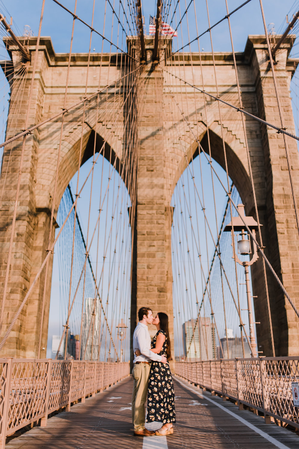 brooklyn bridge engagement shoot, couple shoot nyc, nyc wedding photographer, destination wedding photographer, documentary wedding photographer in nyc (7).jpg