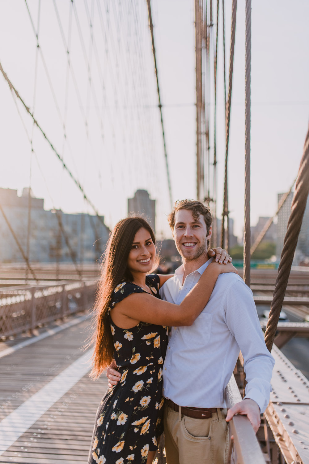 brooklyn bridge engagement shoot, couple shoot nyc, nyc wedding photographer, destination wedding photographer, documentary wedding photographer in nyc (10).jpg