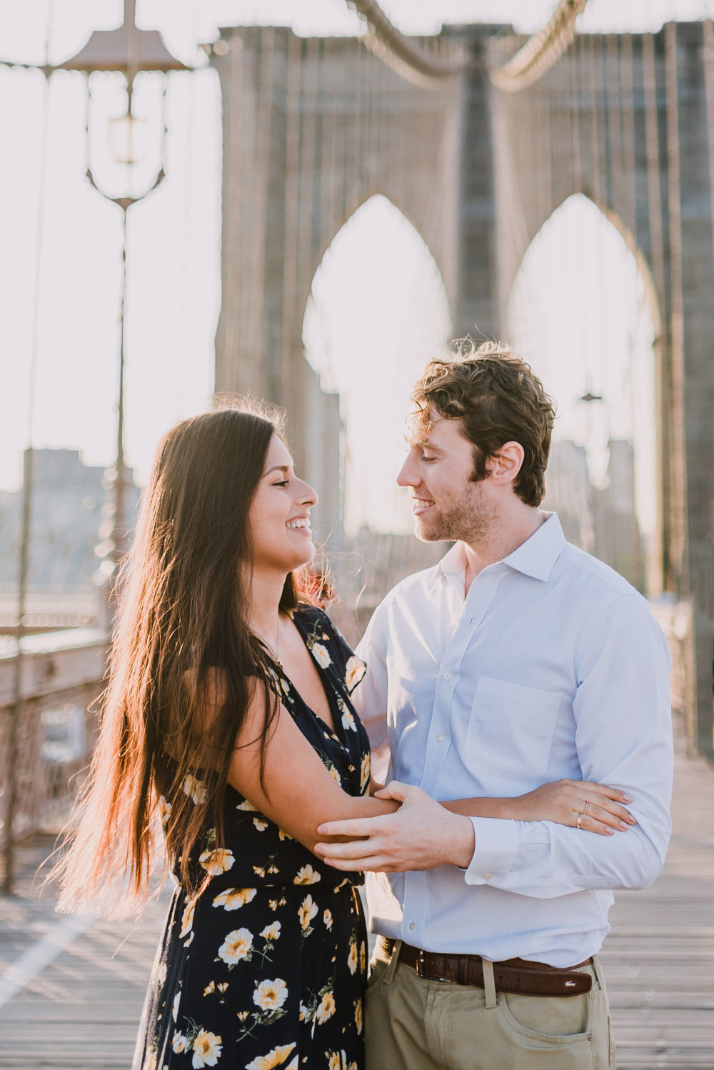 brooklyn bridge engagement shoot, couple shoot nyc, nyc wedding photographer, destination wedding photographer, documentary wedding photographer in nyc (13).jpg