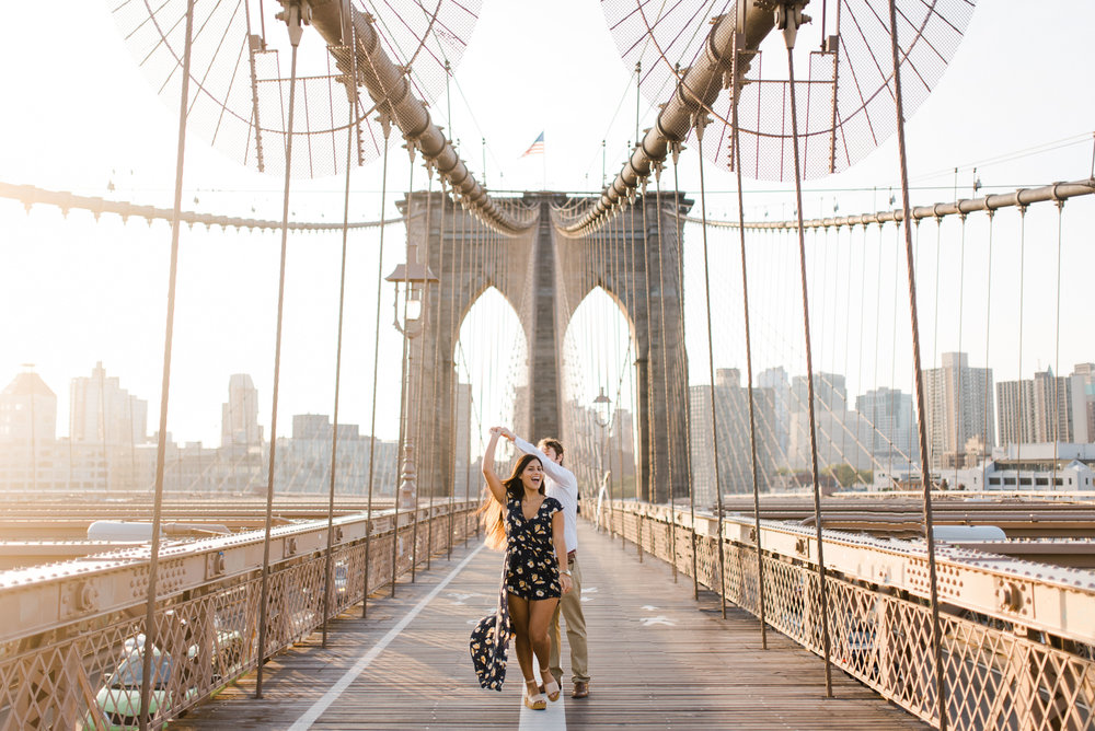 brooklyn bridge engagement shoot, couple shoot nyc, nyc wedding photographer, destination wedding photographer, documentary wedding photographer in nyc (12).jpg